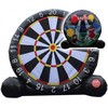 Giant Dual Play Soccer Dart Board/Baseball Game