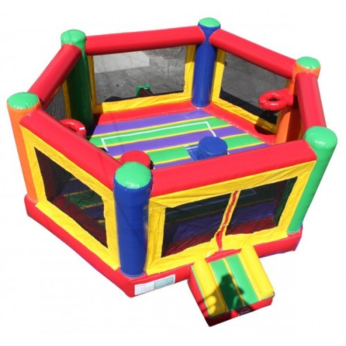 OctoDome Interactive 5/1 Joust Arena/Boxing/Twister/Basket Ball/Bouncer