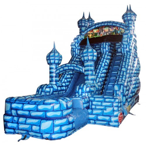 Blue Castle Water Slide 18'H