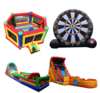 *CARNIVAL & FUNDRAISING - OBSTACLE COURSES - INTERACTIVES INFLATBLES & GIANT WATER SLIDES*